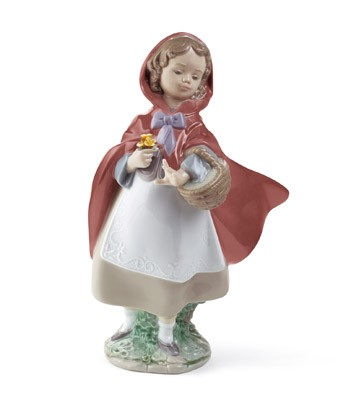 Little Red Riding Hood Lladro Figurine