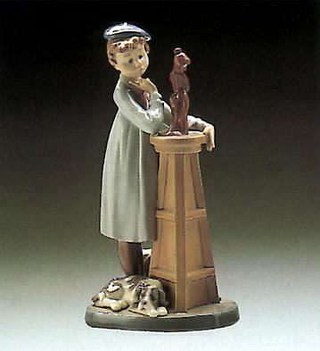 Little Sculptor Lladro Figurine