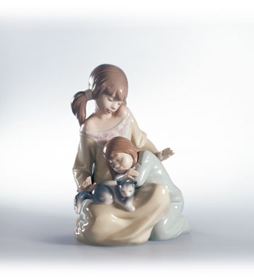 Little Sister Lladro Figurine