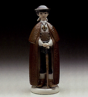 Little Town Mayor Lladro Figurine