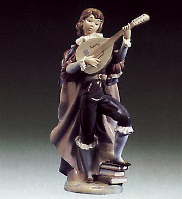 Little Trobadour Lladro Figurine