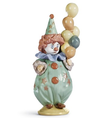Littlest Clown Lladro Figurine