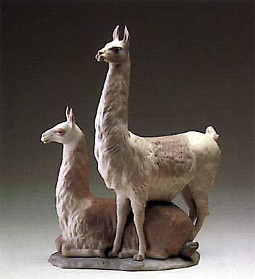 Llama Group Lladro Figurine