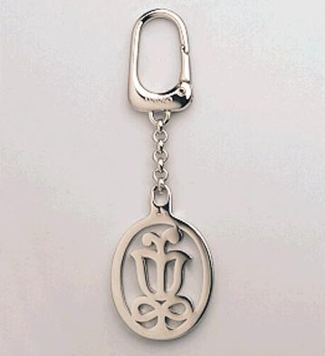 Logo Keyholder (rhodium) Lladro Figurine