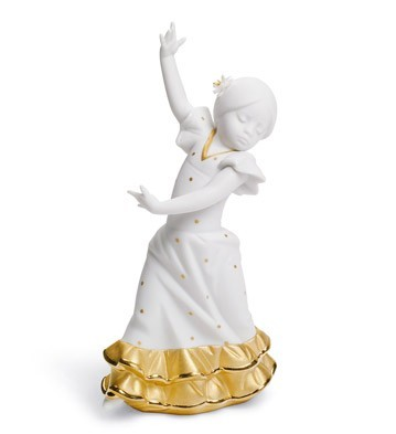 Lolita  (re-deco Golden) Lladro Figurine