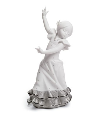 Lolita (re-deco Platinum) Lladro Figurine