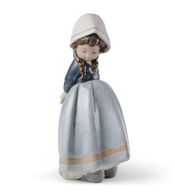 Lonely (blue) Lladro Figurine