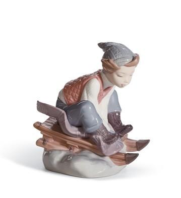 Look Out Below! Lladro Figurine