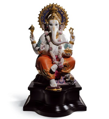 Lord Ganesha Lladro Figurine