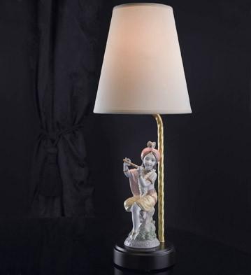 Lord Krishna - Lamp (us) Lladro Figurine