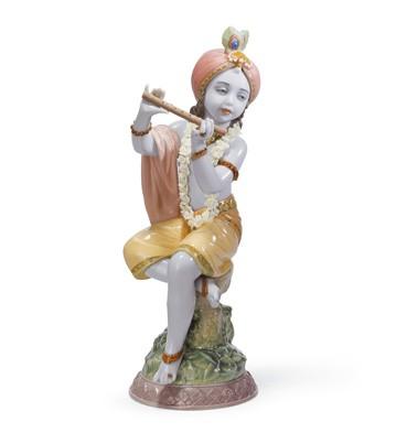 Lord Krishna Lladro Figurine