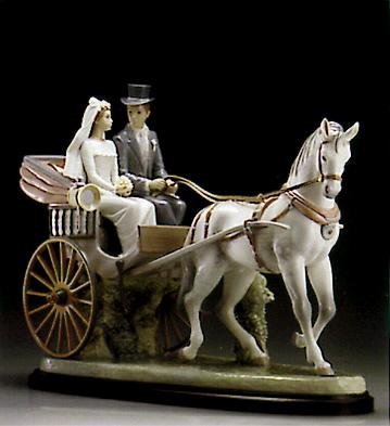 Love And Marriage (l.e.) Lladro Figurine