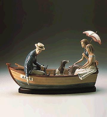 Love Boat (l.e.) (b) Lladro Figurine