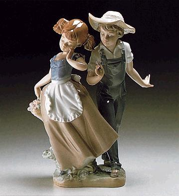 Love In Bloom Lladro Figurine