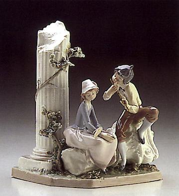 Lovers Serenade Lladro Figurine