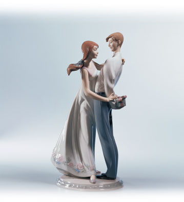 Love's Little Surprises Lladro Figurine