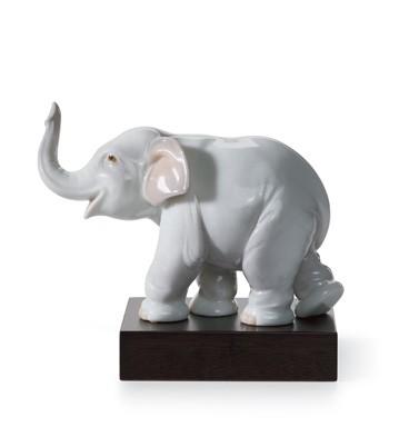 Lucky Elephant Lladro Figurine