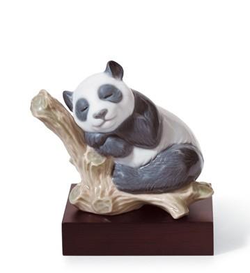 Lucky Panda Lladro Figurine
