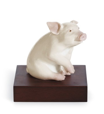 Lucky Piglet Lladro Figurine