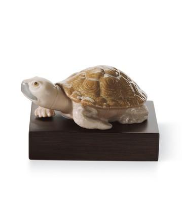 Lucky Tortoise Lladro Figurine