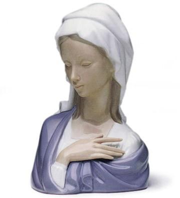 Madonna Head Lladro Figurine