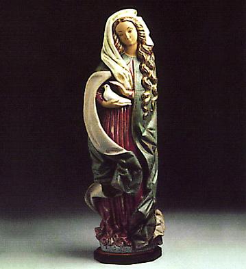 Madonna With Dove -b- Lladro Figurine