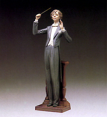 Maestro, Music Please Lladro Figurine