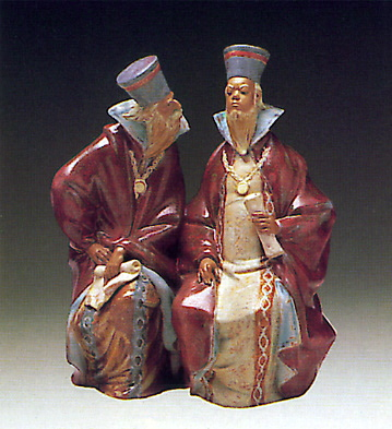 Magistrates Lladro Figurine