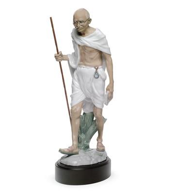 Mahatma Gandhi Lladro Figurine