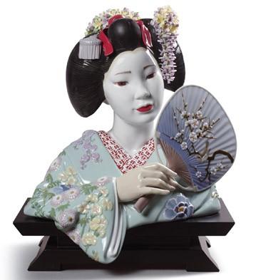 Maiko Lladro Figurine