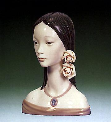 Maja Head Lladro Figurine