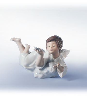 Making A Wish Lladro Figurine