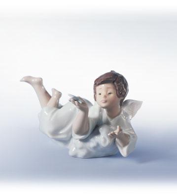 Making A Wish Lladro Figurine