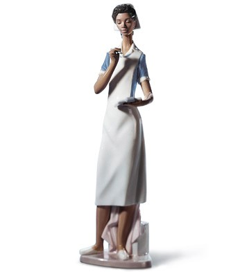 Making Rounds Lladro Figurine