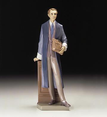 Male Attorney Lladro Figurine