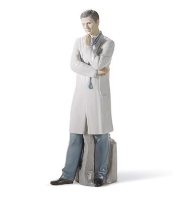 Male Doctor Lladro Figurine