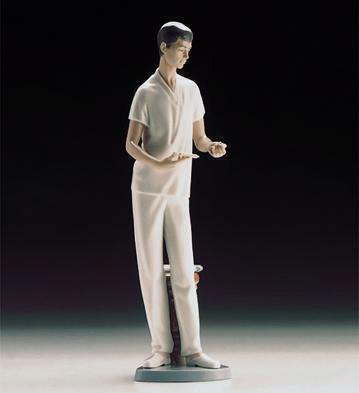 Male Nurse Lladro Figurine