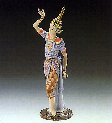 Male Siamese Dancer Lladro Figurine