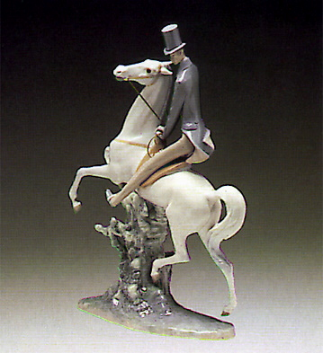 Man On Horse Lladro Figurine