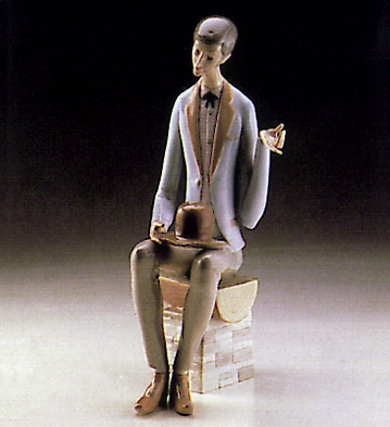 Man With Heart Lladro Figurine