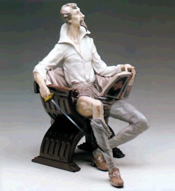 Mancha Nobleman (l.e.) Lladro Figurine