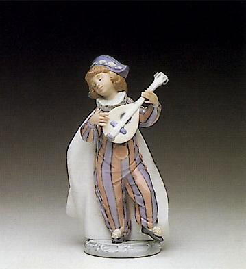 Mandolin Serenade Lladro Figurine