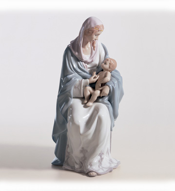 Mary And Baby Jesus Lladro Figurine