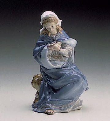 Mary-white Lladro Figurine
