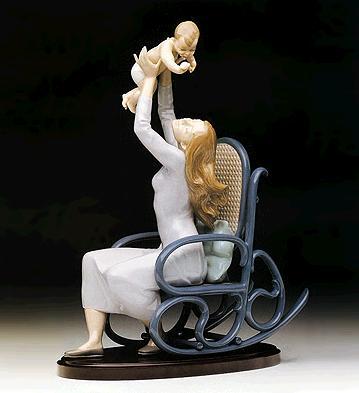 Maternal Joy (l.e.) (b) Lladro Figurine