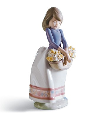 May Flowers Lladro Figurine