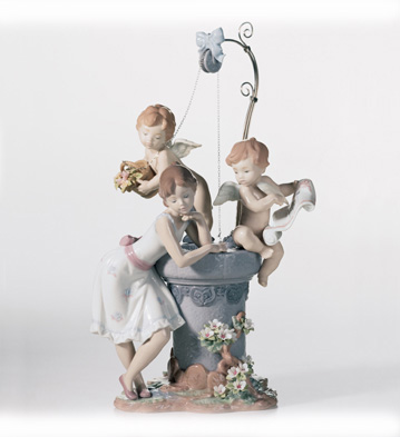 May My Wish Come True Lladro Figurine