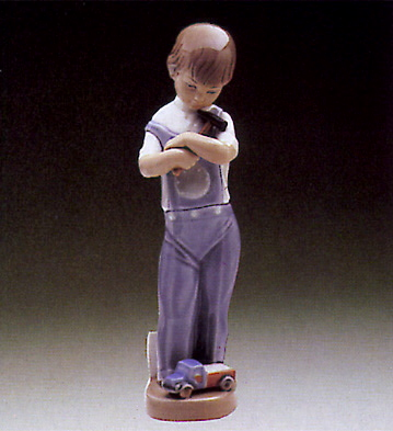 Mechanic Boy Lladro Figurine