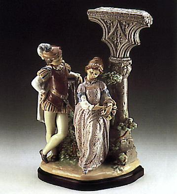 Medieval Courtship (b) Lladro Figurine