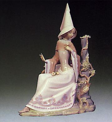 Medieval Lady Lladro Figurine